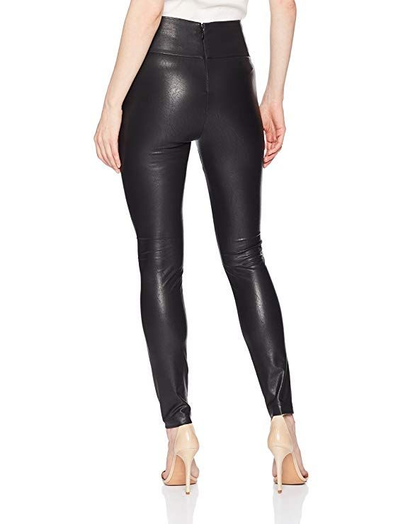 7b4c6218f290b Amazon.com: BCBGMAXAZRIA Women's Blossom Faux-Leather Legging: Clothing  Faux Leather Leggings