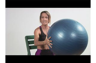 Exercises for Seniors Using an Exercise Ball | eHow
