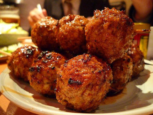 Recette boulettes de porc hach grill es th t vi n n ng thit vien nuong cuisine du monde - Recette chataignes grillees ...