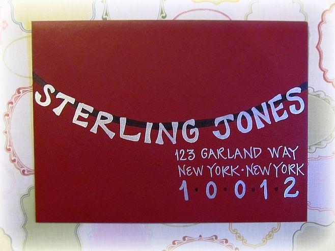 294 best Hand Lettered Envelopes images on Pinterest Penmanship - new letter envelope address format canada