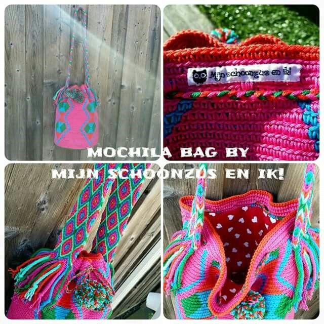 Mochila bag ... gemaakt door Marika!!  https://m.facebook.com/mijnschoonzusenik