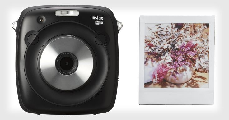 Fujifilm Sq10 Is The First Hybrid Instax Camera: Digital Pics And Square Prints #photography #camera https://petapixel.com/2017/04/18/fujifilm-sq10-brings-back-polaroid-picture-style-square-photos/