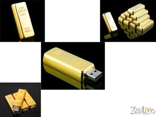 CLÉ KEY USB Lingot D'OR Flash Drive Gold Bullion USB Stick Goldbarren 128GB GO | eBay
