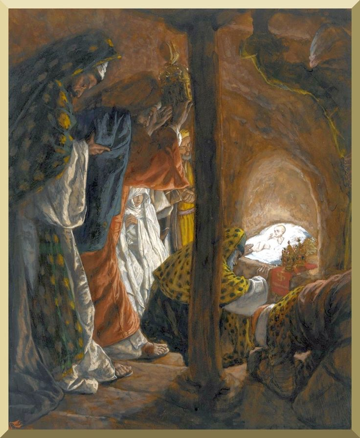 """The Adoration of the Magi"" -- by James Tissot"