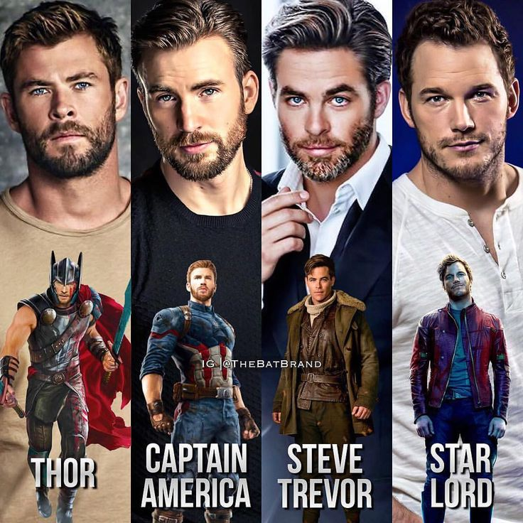 their names are all chris and they all look like the same white guys. LFMFJKAKDNF