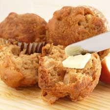 #Muffins aux #pommes et au #miel