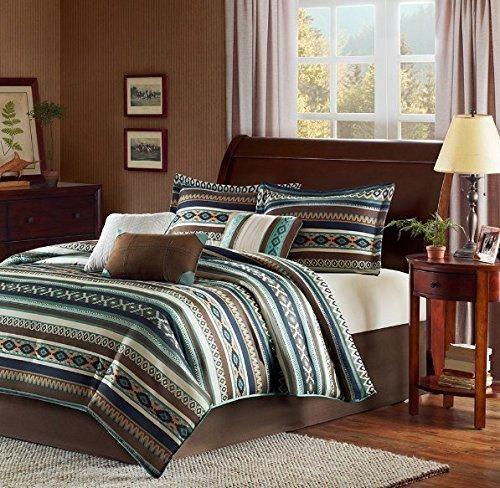 Brown Bedroom Colour Schemes Design Bedroom Unik Patterned Curtains Bedroom Tan Bedroom Decorating Ideas: Best 25+ Southwestern Bedding Ideas On Pinterest