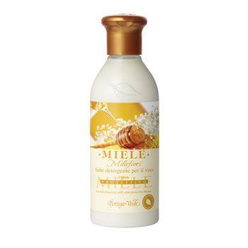 Miele Millefiori - Latte detergente per il viso al Miele protettivo (250 ml)