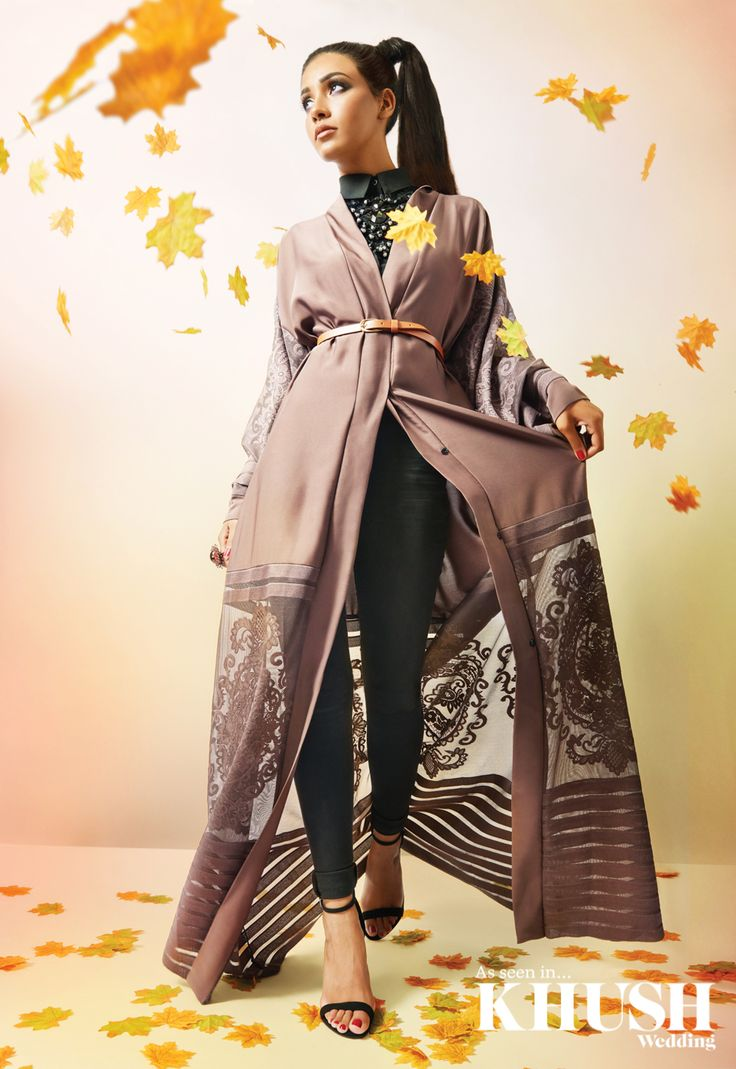 Modest fashion for the modern woman by Abaya Buth    info@abayabuth.com www.abayabuth.com    Necklace: Harle House