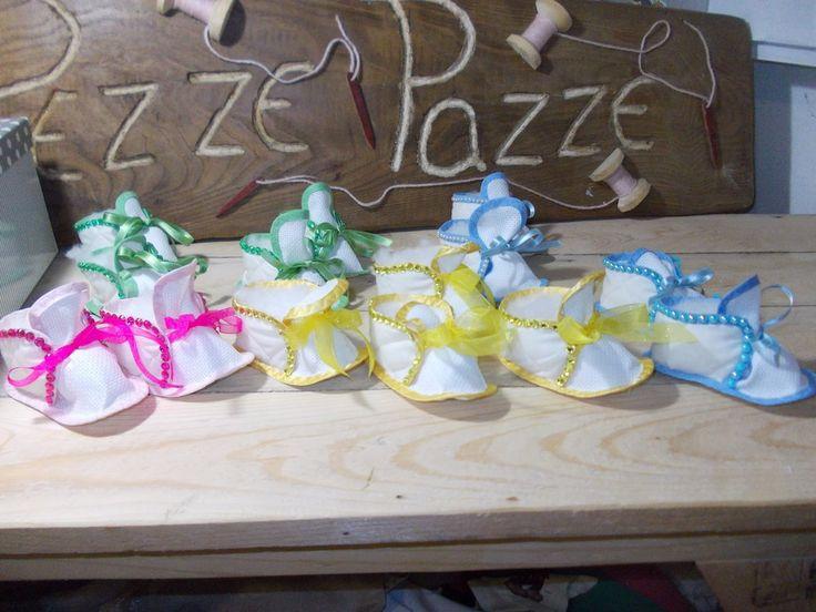 scarpine bebè ricamabili , by pezze pazze, 7,00 € su misshobby.com