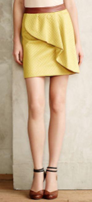 sweet lemon petal skirt #anthrofave http://rstyle.me/n/p8wgzr9te
