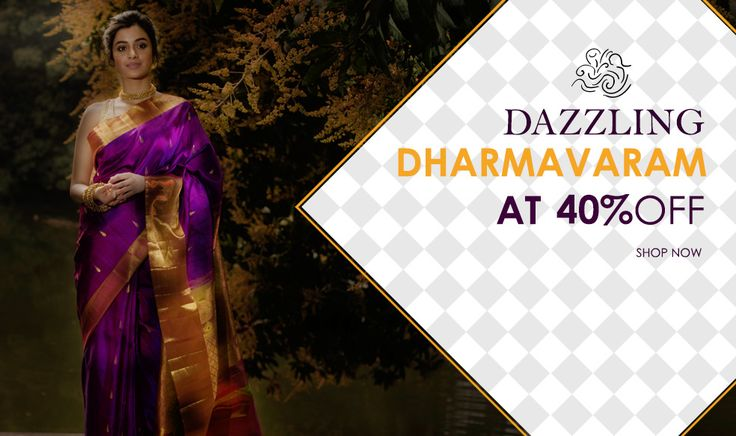 Arrived: #Dharmavaram #weddingcollection at 40% off.