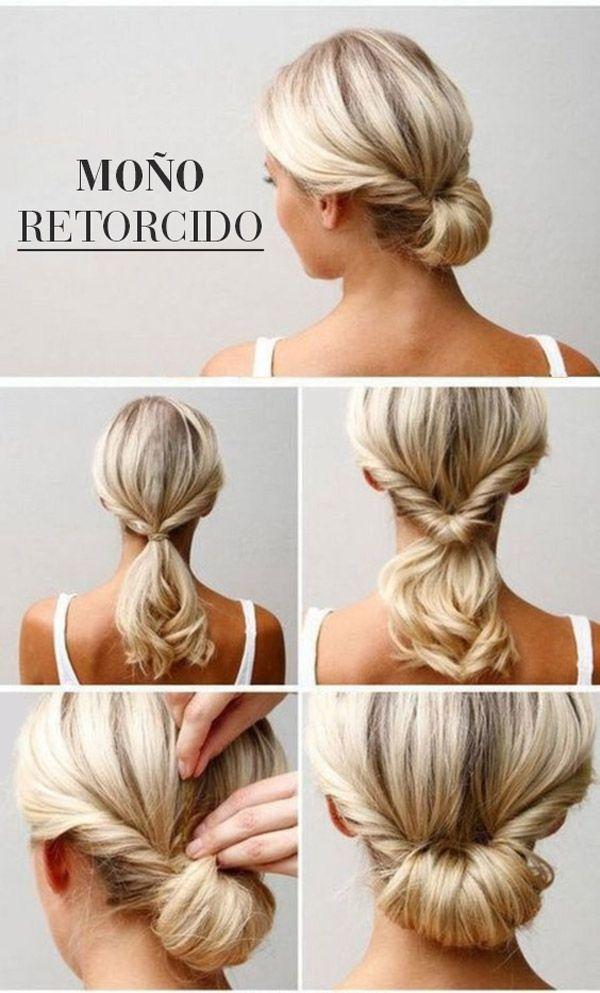 120 best peinados de boda images on pinterest | chignons, hair and