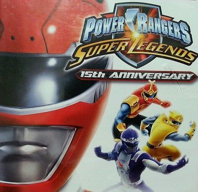 Get your game on with Power Rangers Super Legends 15th Anniversary Sony PlayStation 2 Game, 2007, VGC #playstation #sony #powerrangers #disney #gamer #gaming