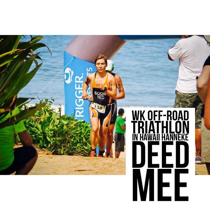 WK off-road triathlon, competition day!