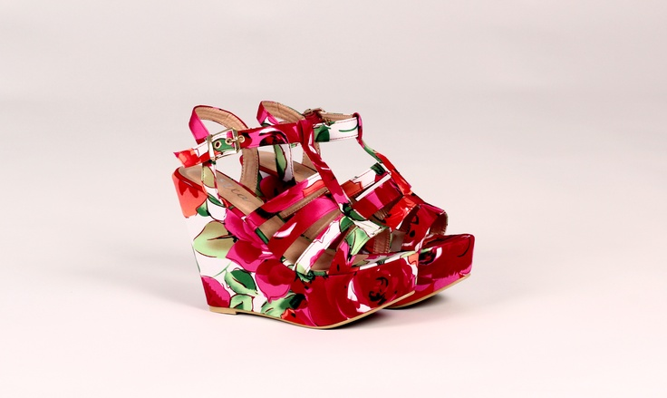 FRANKIE Floral Wedges     http://www.wantherdress.com/prod/89/shoes/floral-wedges