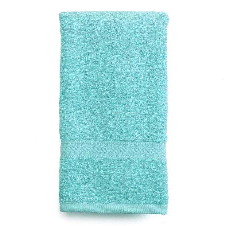 Martex Solid Ringspun Hand Towel, Blue
