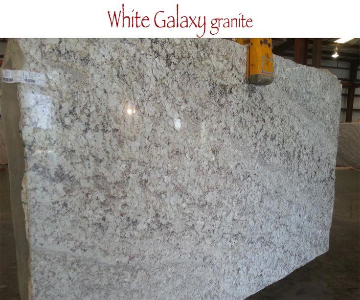 White Galaxy Granite For Kitchen And Bathroom Countertops