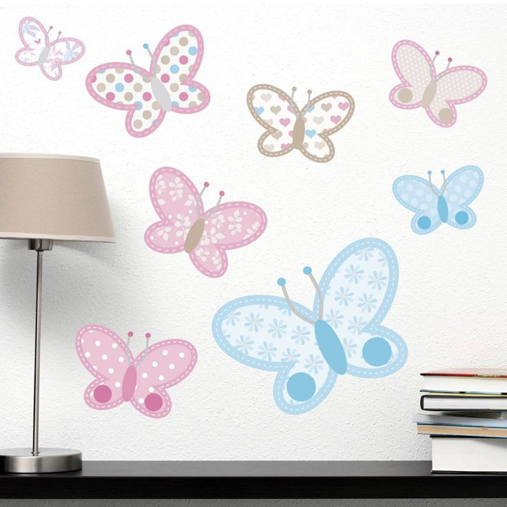 Pastel Butterflies Wall Sticker Part 70