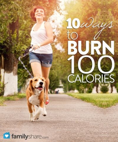 10 Ways to burn 100 calories! Perfect for my New Year's Resolution.