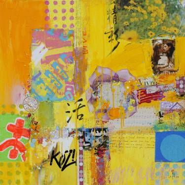 "Saatchi Art Artist Xiaoyang Galas; Painting, ""Vivre (Sold)"" #art"