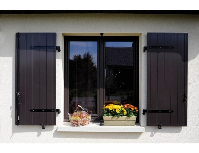 14 best Volets images on Pinterest Garage doors, Outdoor blinds