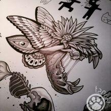 tatouage tanuki fisherman tattoo club aix en provence