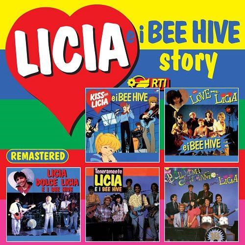 La raccolta pubblicata il 7 dicembre 2010 contenente per la prima volta tutte le colonne sonore della serie animata giapponese Kiss me Licia e dei suoi 4 sequel di produzione italiana con attori in carne e ossa intitolati Love me Licia, Licia dolce Licia, Teneramente Licia e Balliamo e cantiamo con Licia.  Ascolta su Spotify: http://open.spotify.com/album/2hBEd08UD3JiHwQvy9yGVH Scarica su iTunes: https://itunes.apple.com/it/album/licia-e-i-bee-hive-story/id410147981
