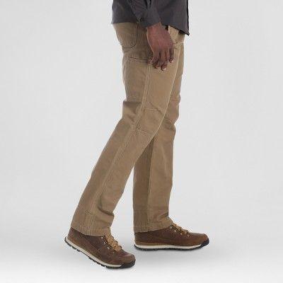 Wrangler Men's Outdoor Coated Cotton Utility Pants - Fawn 32x34