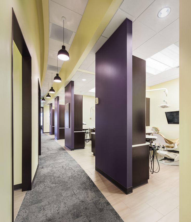 Rear Walls W Accent Color, Ceiling Detail, Lights In Hallway, Curved  Hallway,