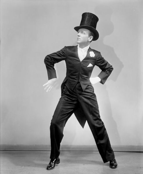 """Fred Astaire: """"I have never had anything that I can remember in the business - and that includes all the movies and the stage shows and everything - that I didn`t enjoy""""."""