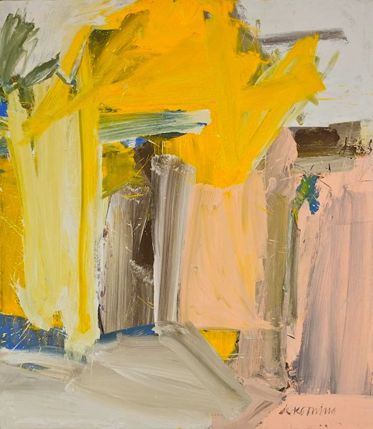 door to the river kooning