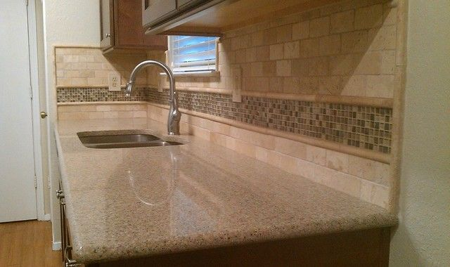 Travertine, Kitchen Backsplash And Photo Galleries On