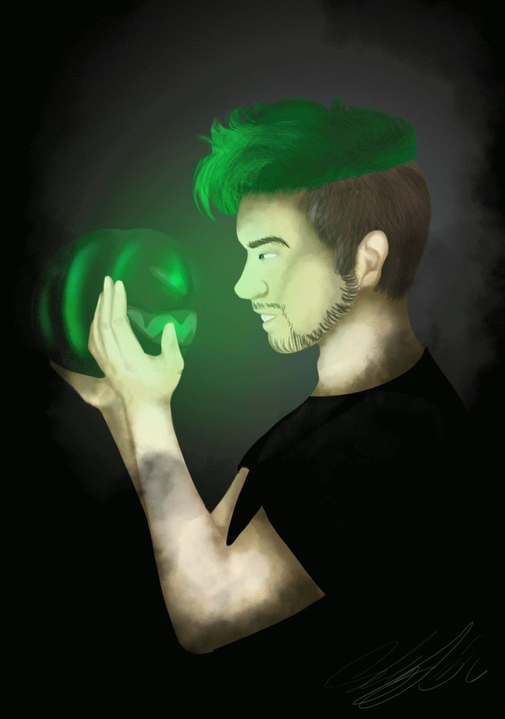 Antisepticeye Painting/ GIF by AsheyF