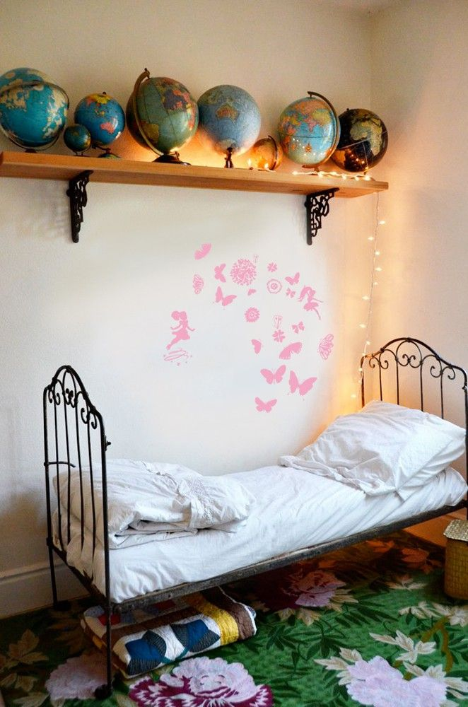 Girly butterfly sticker mural stickers muraux sticker mur objet sticker