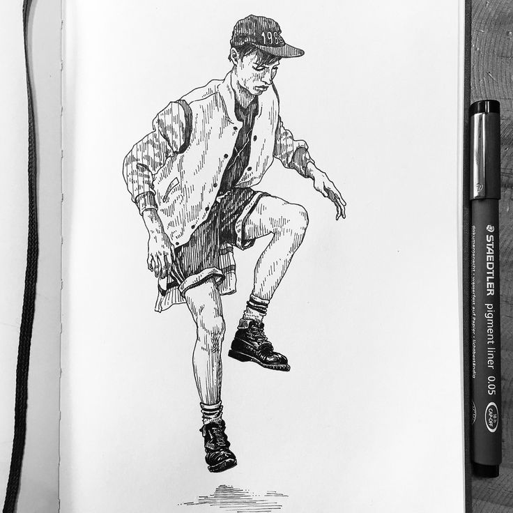 17.04.04-17.04.09 drawing on Behance