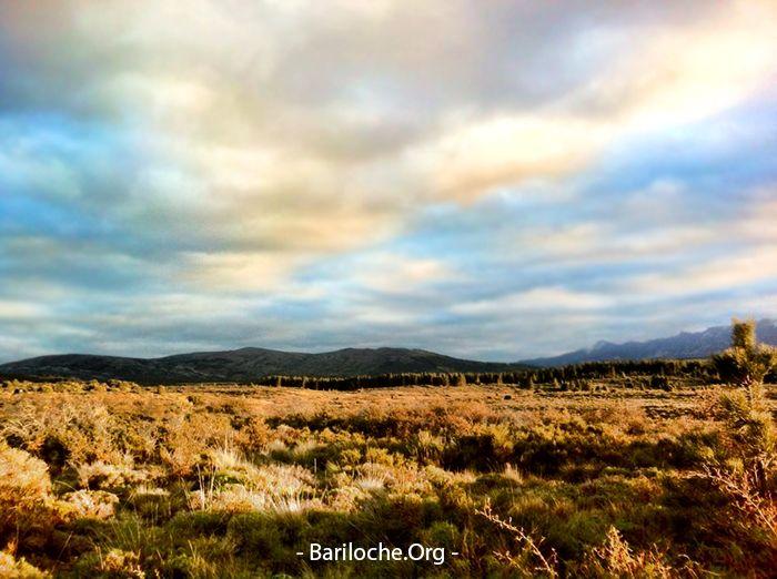 Buen Jueves! Un día frío, 6° la temperatura actual.  A solo 5 kilómetros del centro de Bariloche, la estepa se extiende por todo el territorio patagónico. Un paisaje distinto, ideal para un paseo corto en familia.  Paseos y Excursiones en Bariloche: www.bariloche.org