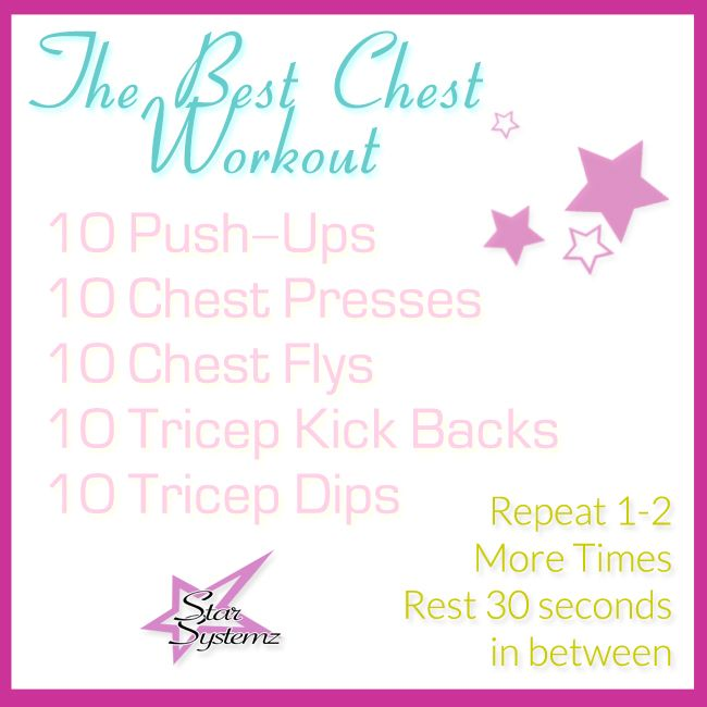 Chest Workout for WOMEN!
