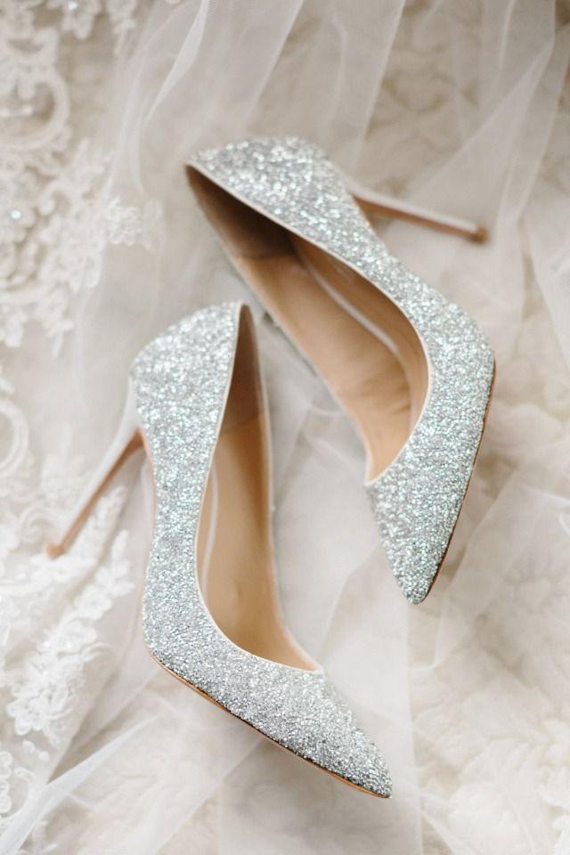 Sparkly wedding heels   Sparkly wedding
