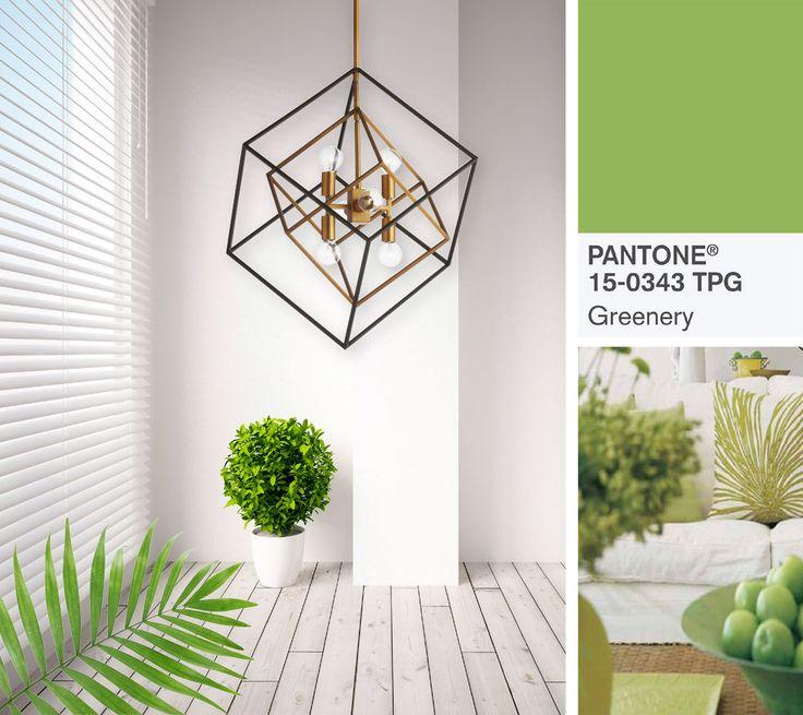 Comme en fait preuve la couleur Pantone #Greenery, la verdure éclate en 2017. La reconnexion avec la nature inspire les plus beaux décors!  Passez voir les #spécialistes dans un des 25 magasins #INTERLuminaires.