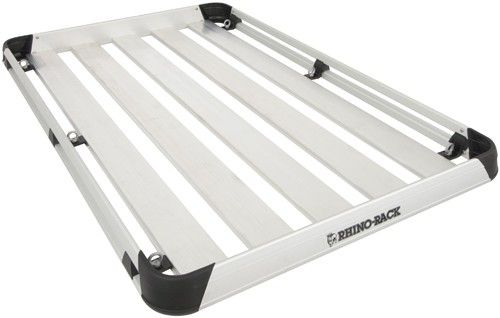"Rhino-Rack Alloy Tray Roof Cargo Carrier - 5 Planks - 79"" Long x 49"" Wide Rhino Rack Accessories and Parts AT2012"