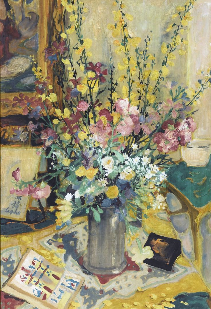 L Ph (1907-2001), Bouquet champtre (Country Bouquet) | Vietnam,  peintures | Pinterest | Modern contemporary, Impressionist and Modern art
