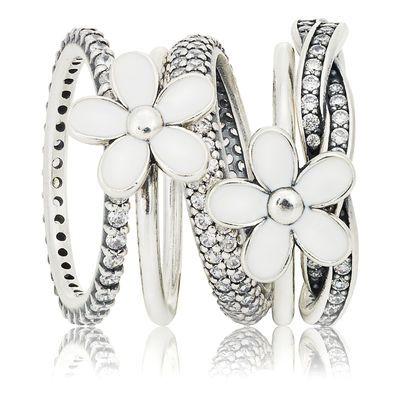 Love pandora rings | www.goldcasters.com