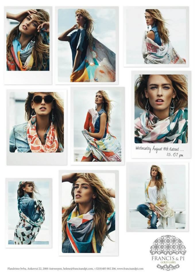 Nieuwe sjaals van Francis & Pi @ Seasons
