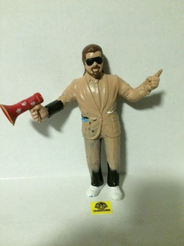 "(TAS003466) - WWE WWF WCW Wrestling LJN Custom 8"" Figure - Manager Jimmy Hart"