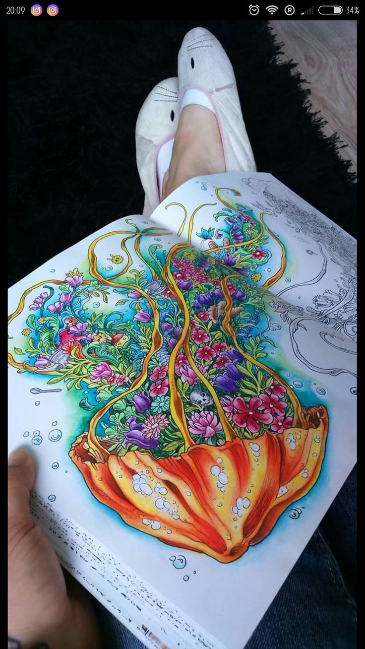 847 Best Animorphia Coloring Book Images On Pinterest