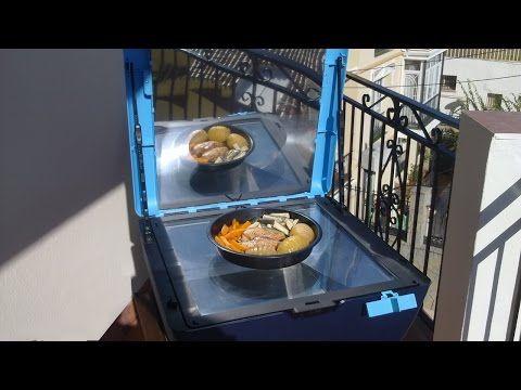 Programar el encendido del horno solar Sun Cook