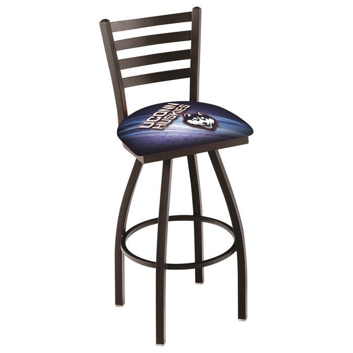 UConn Huskies D2 Ladder Back Bar Stool - Visit SportsFansPlus.com for more details!