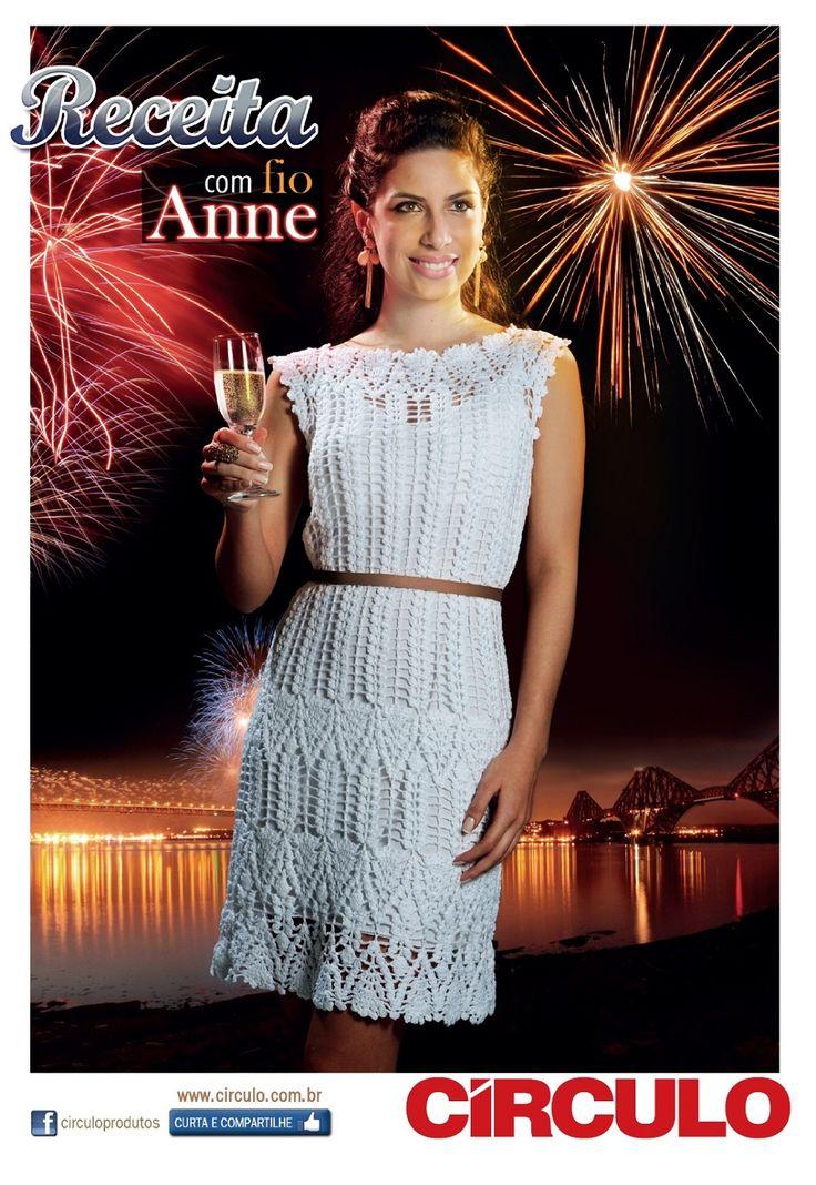 Receitas Círculo - Vestido Branco Anne