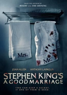 Stephen King's A Good Marriage, Movie on DVD, Horror Movies, Suspense Movies, movies coming soon, new movies in February